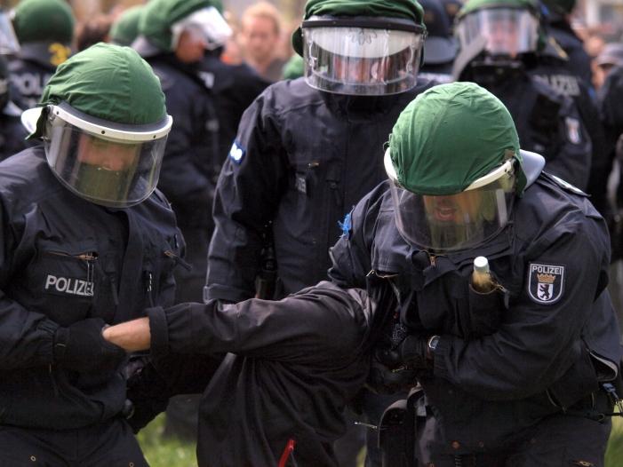 """Bild von Kriminalstatistik: GdP warnt vor """"alarmierender Gewaltentwicklung"""""""