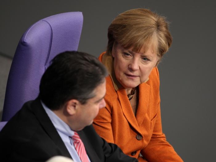 Bild von Merkel und Gabriel: Ausgang des Türkei-Referendums zeigt tiefe Spaltung