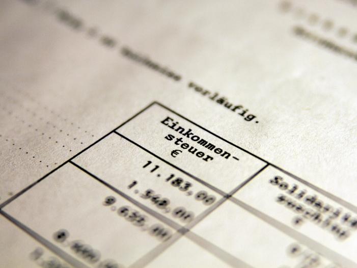 Spitzengewerkschafter wollen Steuerentlastungen für Mittelschicht