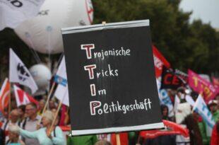 zypries wenig chancen fuer wiederaufnahme der ttip verhandlungen 310x205 - Zypries: Wenig Chancen für Wiederaufnahme der TTIP-Verhandlungen
