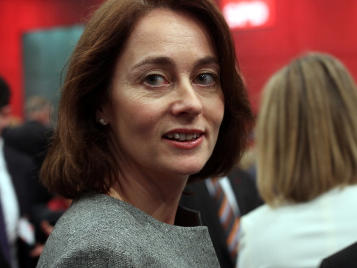Barley als Bundesfamilienministerin vereidigt