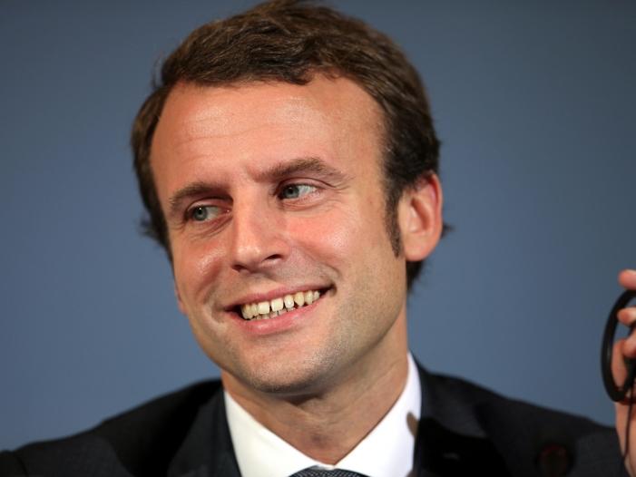 """Bild von Macrons """"En Marche"""" bei Wahl in Frankreich deutlich vorne"""