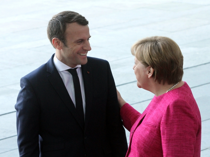 parlamentswahl in frankreich merkel gratuliert macron - Parlamentswahl in Frankreich: Merkel gratuliert Macron
