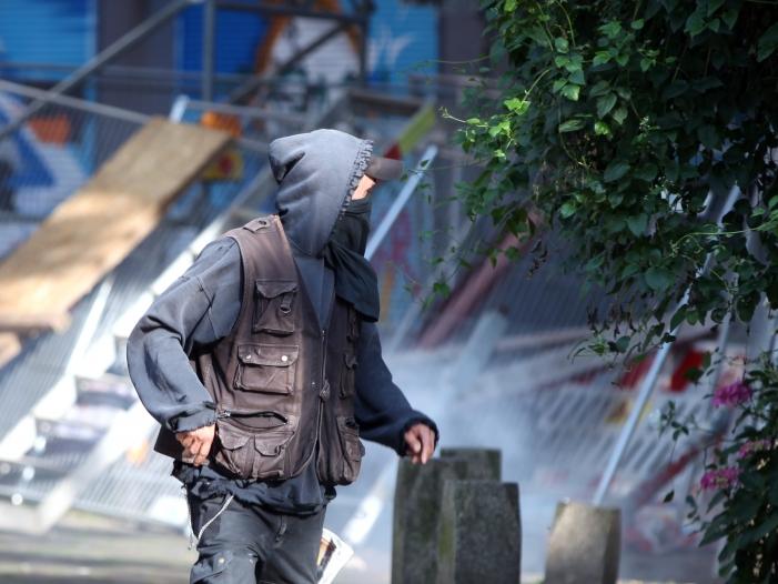 experte linke und gruene ermutigten gewalttaeter bei g20 krawallen - Experte: Linke und Grüne ermutigten Gewalttäter bei G20-Krawallen