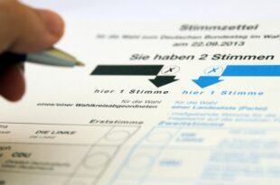 bundestagswahl reihenfolge der parteien auf stimmzettel nicht ueberall gleich 310x205 - Bundestagswahl: Reihenfolge der Parteien auf Stimmzettel nicht überall gleich