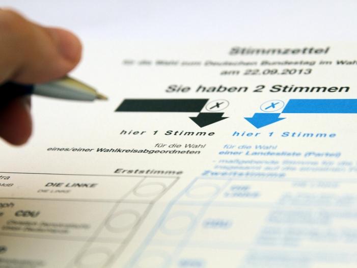 Bild von Bundestagswahl: Reihenfolge der Parteien auf Stimmzettel nicht überall gleich