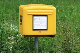 Briefkasten 310x205 - Die Post - fast so alt wie Methusalem