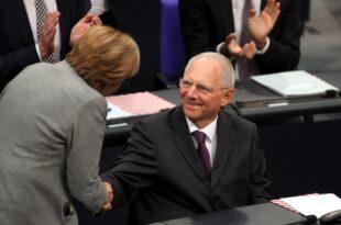 schaeuble neuer bundestagspraesident 310x205 - Schäuble neuer Bundestagspräsident