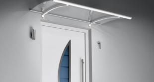 Tuer Vordach 310x165 - Haustürvordach: Stilvoller Empfang in angesagter Optik