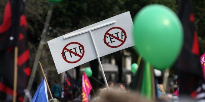 gruene stellen ceta ratifizierung infrage 660x330 - Grüne stellen Ceta-Ratifizierung infrage