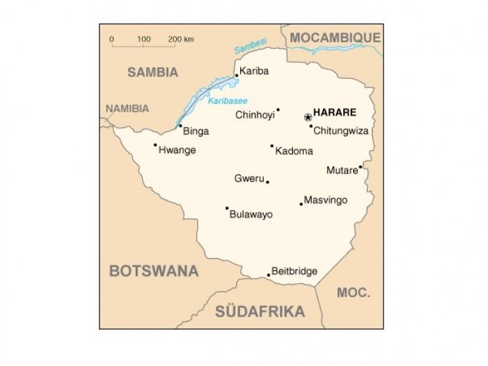 Bild von Simbabwe lässt Journalisten nicht ins Land