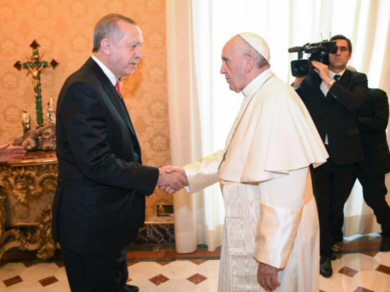 Photo of Vatikan: Papst empfängt Erdogan