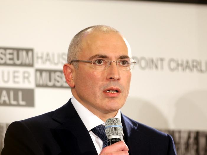 chodorkowski hat verstaendnis fuer schroeder - Chodorkowski hat Verständnis für Schröder