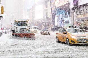 schnee usa 310x205 - New York: Schneesturm sorgt für Chaos