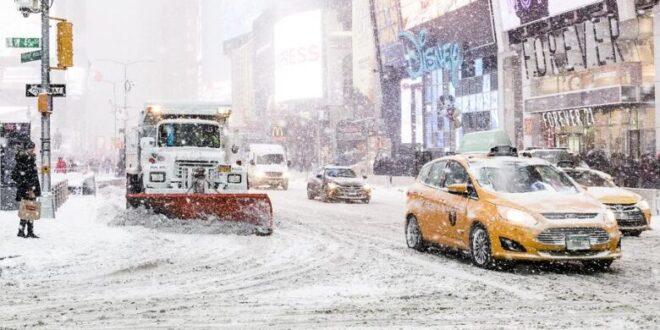 schnee usa 660x330 - New York: Schneesturm sorgt für Chaos