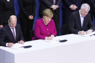 """union und spd unterschreiben koalitionsvertrag 310x205 - Pistorius: GroKo-Ausstieg sollte """"keine taktische Frage"""" sein"""