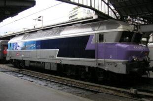 Eisenbahn Zug Frankreich Schiene Bahnhof Diesel Strom Verkehr Streik Lokomotive SNCF CC 72121 310x205 - Paris: Streik bis Samstag ausgesetzt