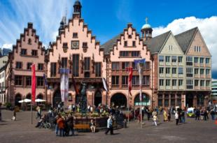 Frankfurt Stadtzentrum 310x205 - Frankfurt a. M. zieht mehr Touristen an