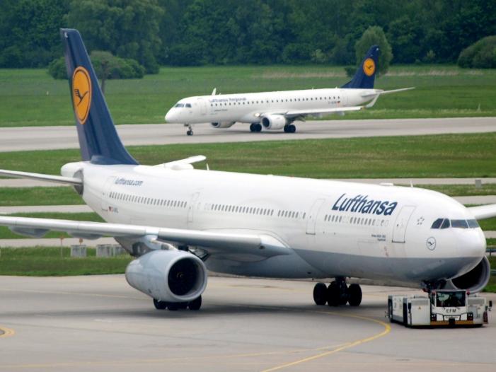 Lufthansa sagt wegen Verdi Streik jeden zweiten Flug ab - Lufthansa sagt wegen Verdi-Streik jeden zweiten Flug ab