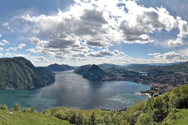 Luganersee - Kanton Tessin – die Sonnenstube der Schweiz