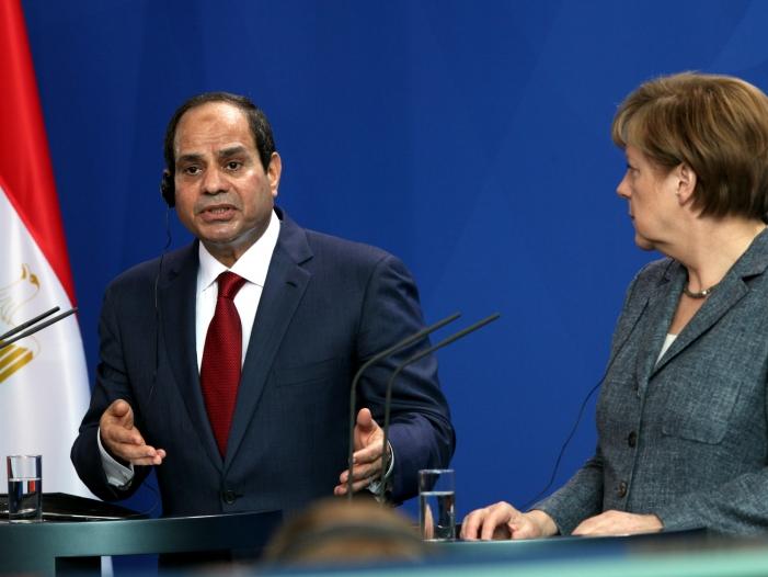 merkel gratuliert al sisi zur wiederwahl - Merkel gratuliert al-Sisi zur Wiederwahl