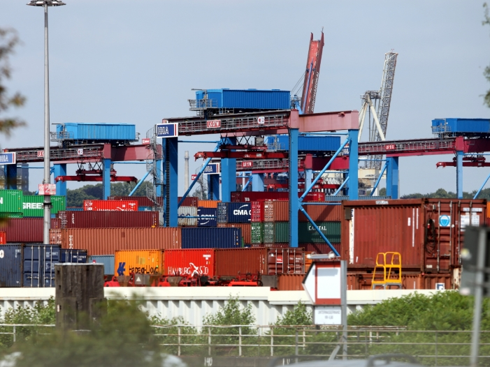 Bild von Deutsche Exporteure geraten in Bedrängnis