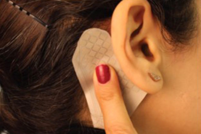 Sensoraufkleber - Sensoraufkleber verwandeln menschlichen Körper in Multi-Touch-Oberfläche