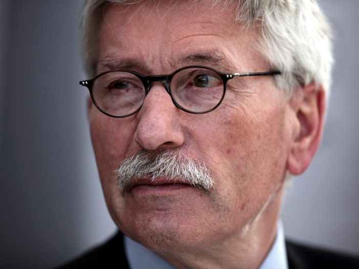 Bild von Thilo Sarrazin kommt auf AfD-Vorschlag in Bundestags-Ausschuss