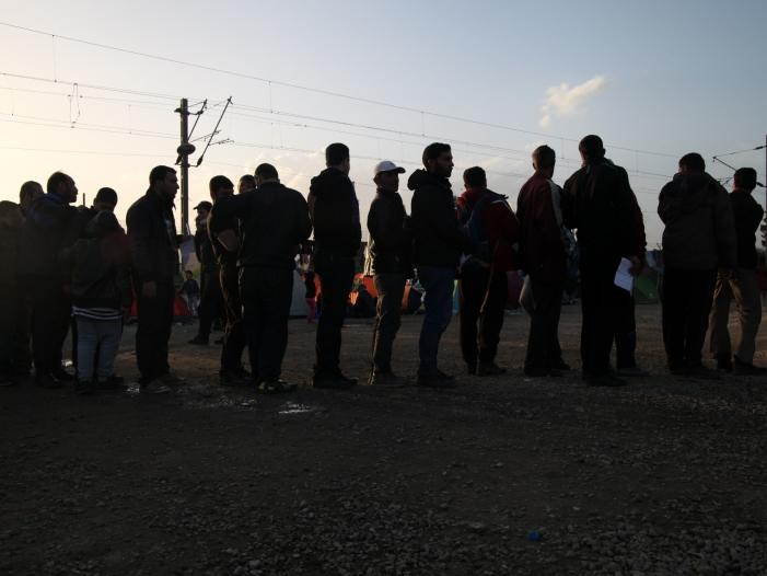 Bild von Van der Bellen gegen eine härtere Asylpolitik