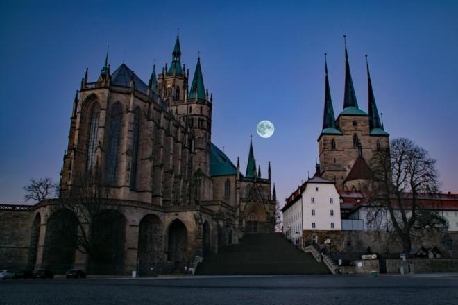 Erfurt Dom - Trend: Ostdeutsche kehren vermehrt in die Heimat zurück