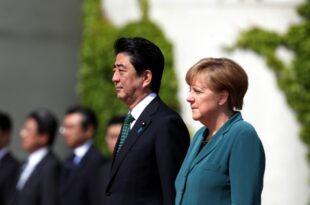 Merkel kondoliert Abe nach Flutkatastrophe in Japan 310x205 - Merkel kondoliert Abe nach Flutkatastrophe in Japan