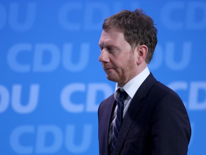 Bild von Sachsens Ministerpräsident: Aufbau Ost noch nicht abgeschlossen