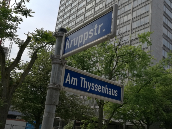 Thyssenkrupp Chef warnt vor weiterer Eskalation im Handelsstreit - Thyssenkrupp-Chef warnt vor weiterer Eskalation im Handelsstreit