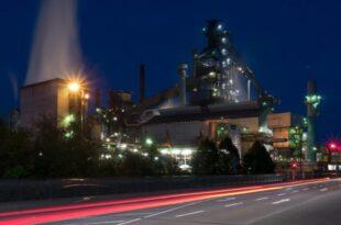 Stahlproduktion 310x205 - Stahlproduktion: Mit Wasserstoff, Methan und Methanol gegen CO2