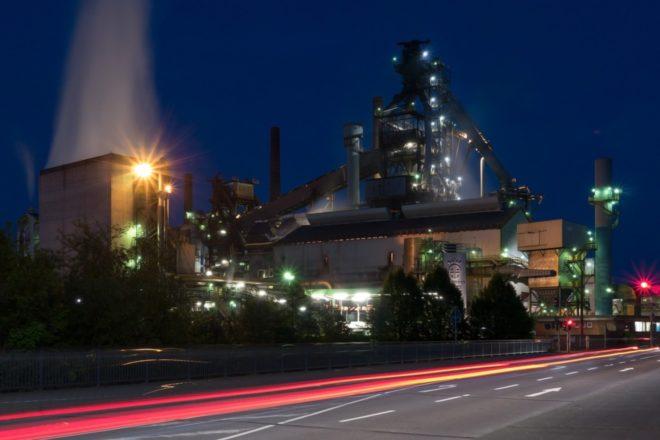 Bild von Stahlproduktion: Mit Wasserstoff, Methan und Methanol gegen CO2