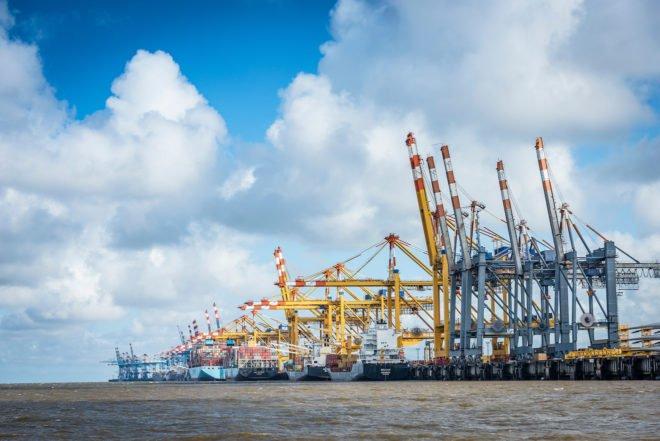 Bild von Erfolgsgeschichte Container-Terminal Bremerhaven
