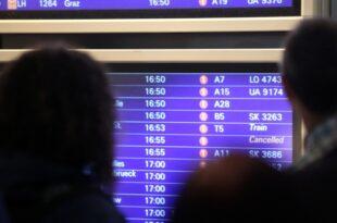 Flughafenverband rechnet mit Ausfällen auch im Herbst 310x205 - Flughafenverband rechnet mit Ausfällen auch im Herbst