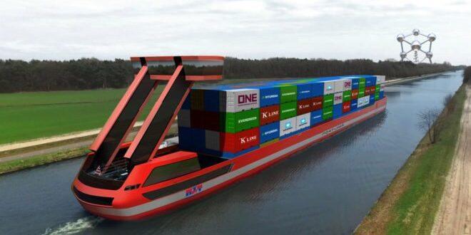 Portliner 660x330 - Elektrische Lastschiffe ermöglichen emissionsfreie Binnenschifffahrt