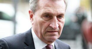 Oettinger sieht keinen drohenden Autoritätsverlust für Merkel 310x165 - Oettinger sieht keinen drohenden Autoritätsverlust für Merkel
