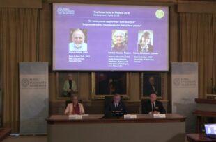 Physik Nobelpreis geht an drei Laserforscher 310x205 - Physik-Nobelpreis 2018 geht an drei Laserforscher