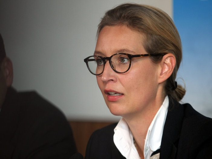 Weidel kritisiert Italiens Haushaltspläne - Weidel kritisiert Italiens Haushaltspläne