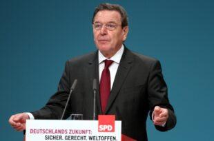 Altkanzler Schröder fordert Kurswechsel der SPD 310x205 - Altkanzler Schröder fordert Kurswechsel der SPD