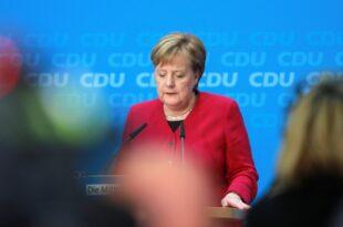 Merkel nach Rücktrittsankündigung wieder beliebter 310x205 - Merkel nach Rücktrittsankündigung wieder beliebter