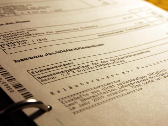 Bild von Merz für stärkere Steuerentlastungen als geplant