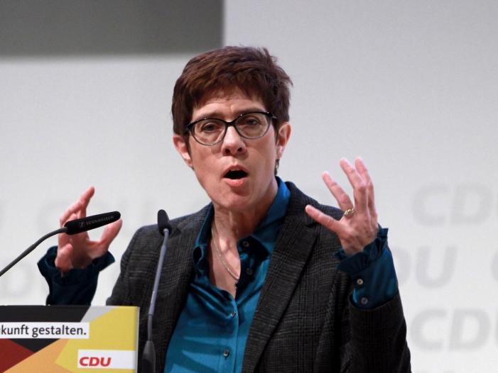 Bild von Parteienforscher: AKK wird neue CDU-Vorsitzende