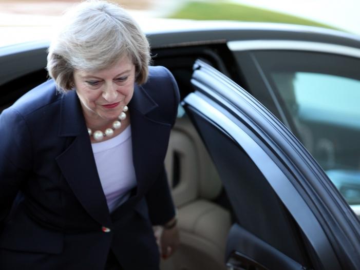Bild von Theresa May hat Zusage für Verbleib in Zollunion