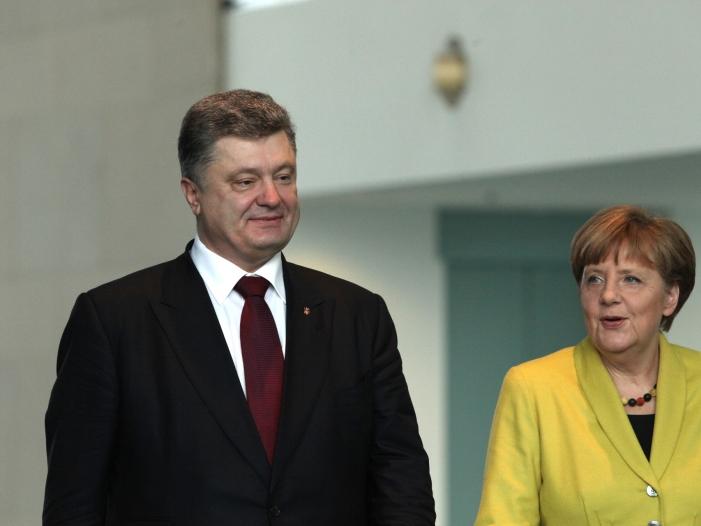 Photo of Ukraine-Krise: Poroschenko hofft auf Merkel