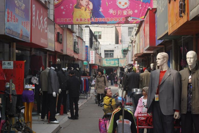 China Einkaufsstrasse - Ausblick 2019: China mit hoher Inlandsnachfrage