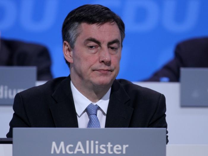 Bild von McAllister will stärkere europäische Zusammenarbeit