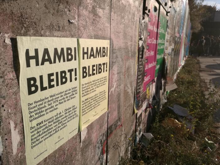 Bild von Polizeieinsatz am Hambacher Forst
